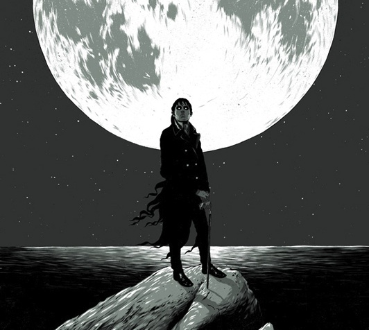 Dark Shadows - Mondo poster - Ghostco (Matthew Woodson)