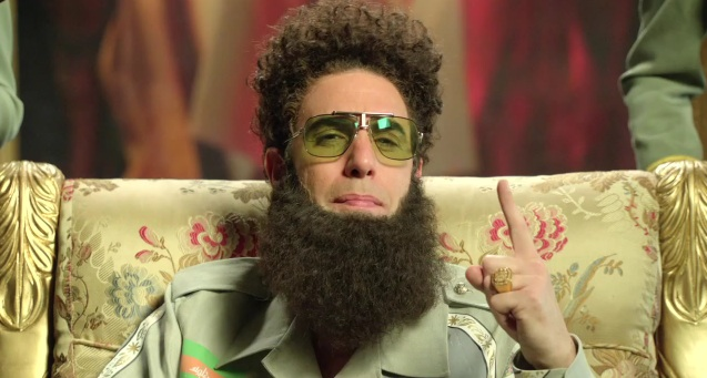 General Aladeen (Sacha Baron Cohen) - The Dictator - Australia