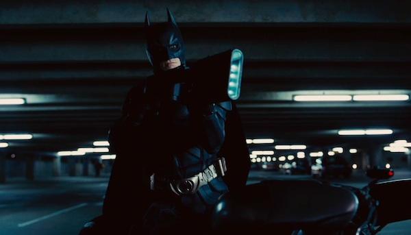The Dark Knight Rises Trailer - Batman with a gun?