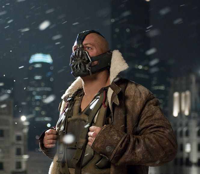 Tom Hardy as Bane - The Dark Knight Rises