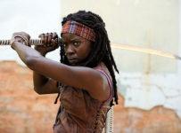 Michonne (Danai Gurira) on AMC's The Walking Dead (EW)