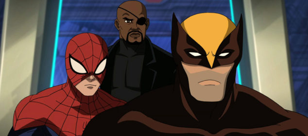 Ultimate Spide-Man - Season 2 - Wolverine, Nick Fury and Spider-man
