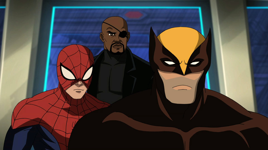 Ultimate Spide-Man - Season 2 - Wolverine, Nick Fury and Spider-man
