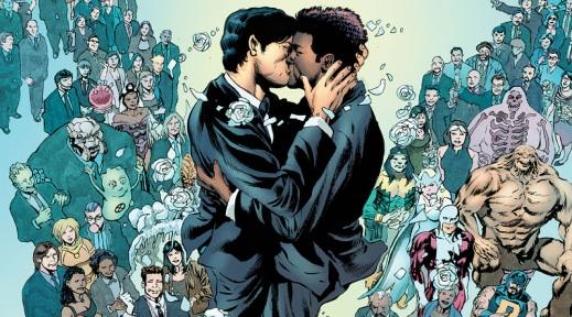 Astonishing X-Men #51 - Wedding - Northstar and Kyle