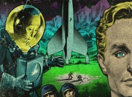 Retro Prometheus poster (1950s style) - Cucarcha Borracha