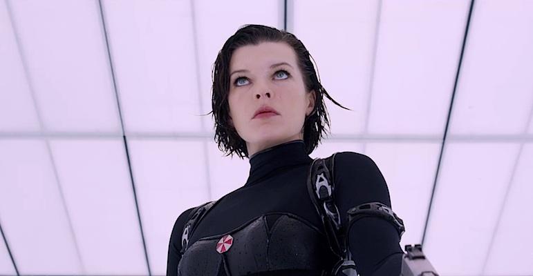 Resident Evil: Retribution trailer - Milla Jovovich