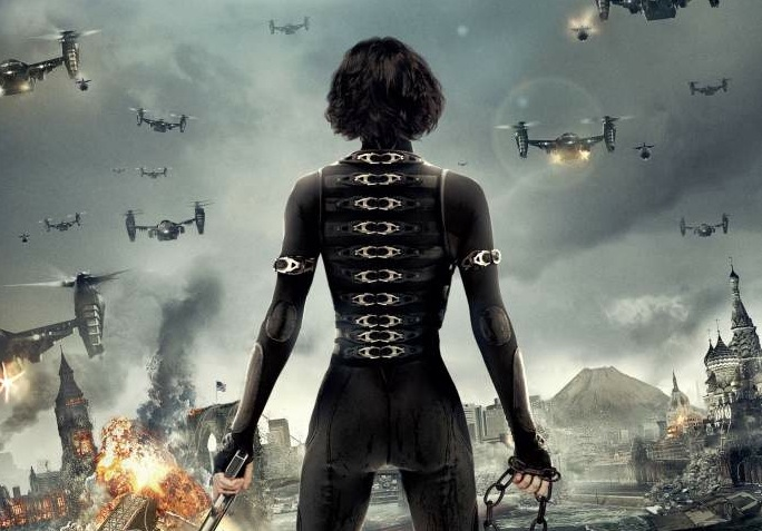 Resident Evil: Resident Evil: Retribution poster - International