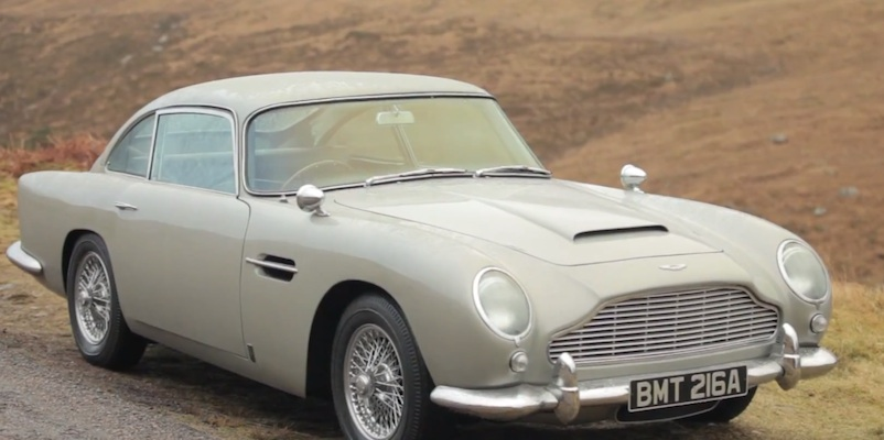 Aston Marton DB5 - Skyfall