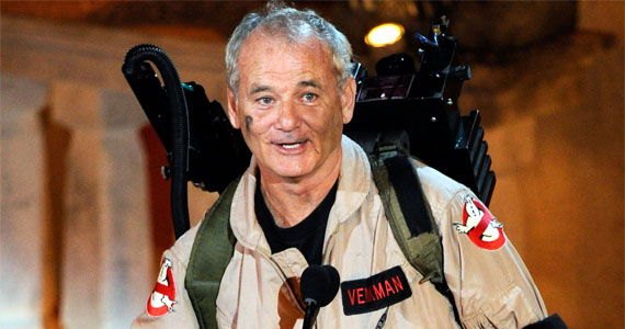 Bill Murray - Ghostbusters 3