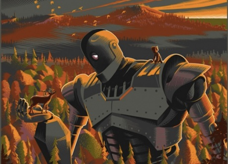 The Iron Giant - Mondo poster