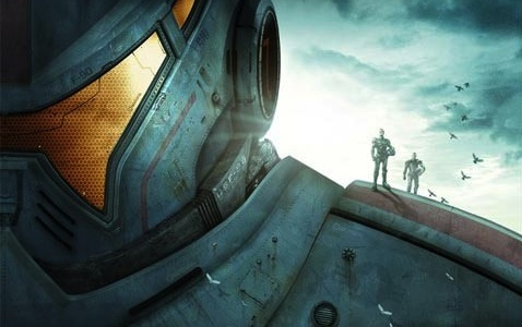 Pacific Rim poster slice - Comic-Con