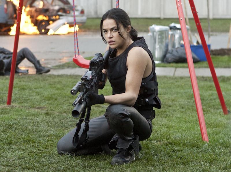 Michelle Rodriguez - RESIDENT EVIL: RETRIBUTION