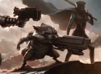 Guardians of the Galaxy - Film Concept Art - Rocket Raccoon
