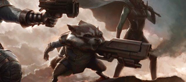 Guardians of the Galaxy - Film Concept Art - Rocket Raccoon