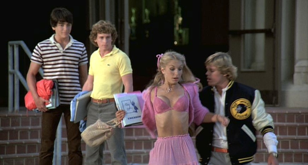 Zapped! Heather Thomas topless