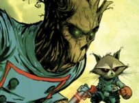 Skottie Young - Groot and Rocket Raccoon