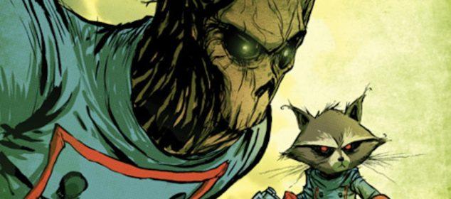 Skottie Young - Groot and Rocket Raccoon