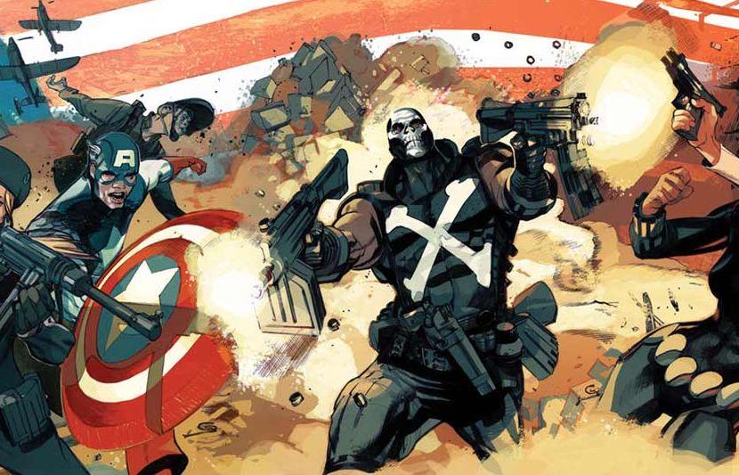 Captain America and Crossbones