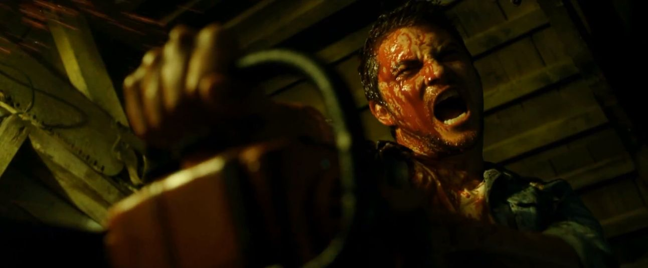 The Evil Dead (2013) Remake - Chainsaw