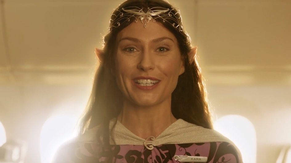 Air New Zealand Safety Briefing - The Hobbit