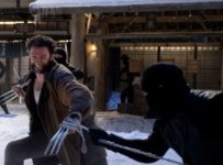The Wolverine - Hugh Jackman fights some guys