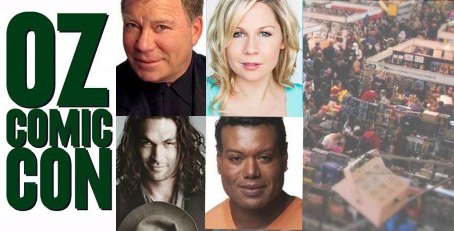 Oz Comic-Con 2014: William Shatner, Gigi Edgley, Jason Momoa, Chris Judge