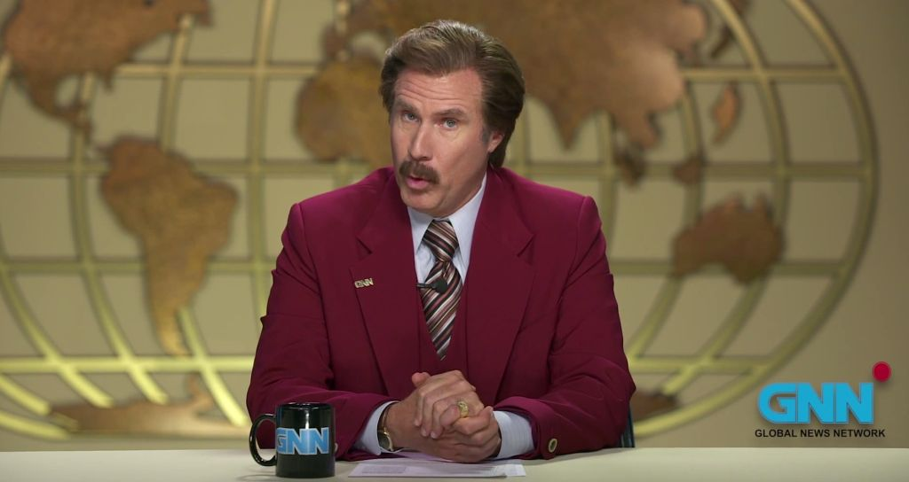 Ron Burgundy: Melbourne Cup 2013