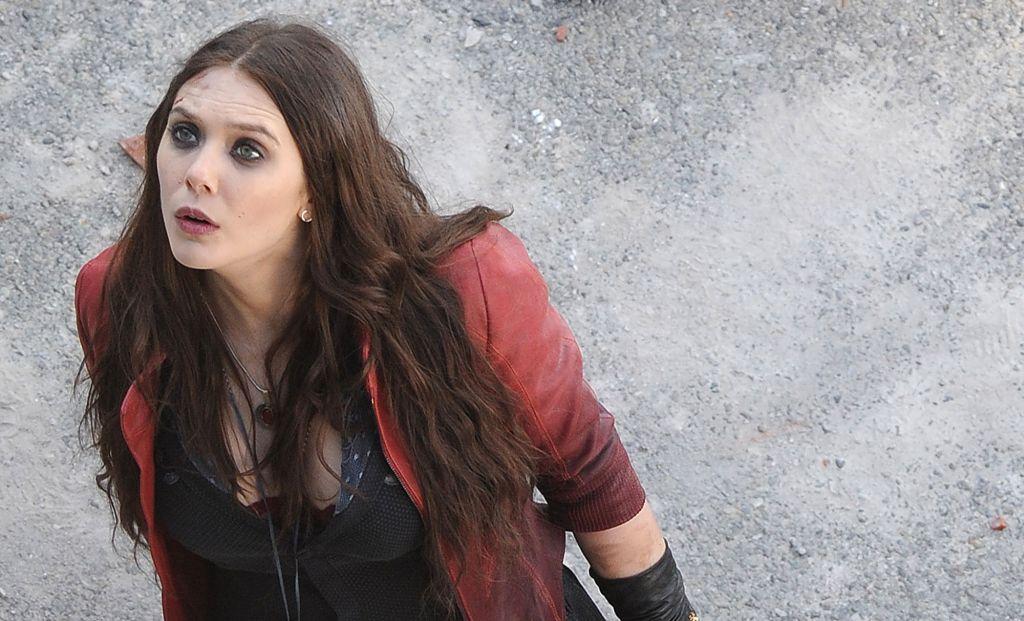 Elizabeth Olsen is Scarlet Witch in Avengers: Age of Ultron