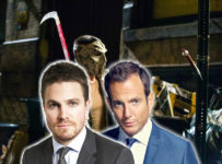Stephen Amell and Will Arnett - TMNT 2