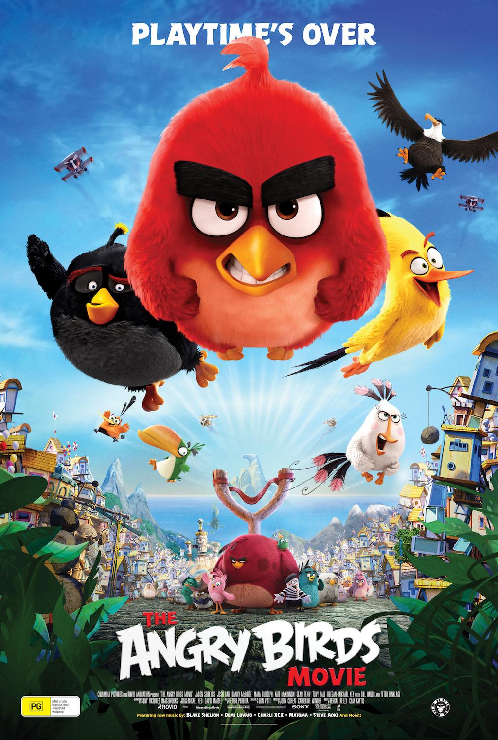 Angry birds в кино энгри бердс ангри бердс в кино 2016 смотреть.