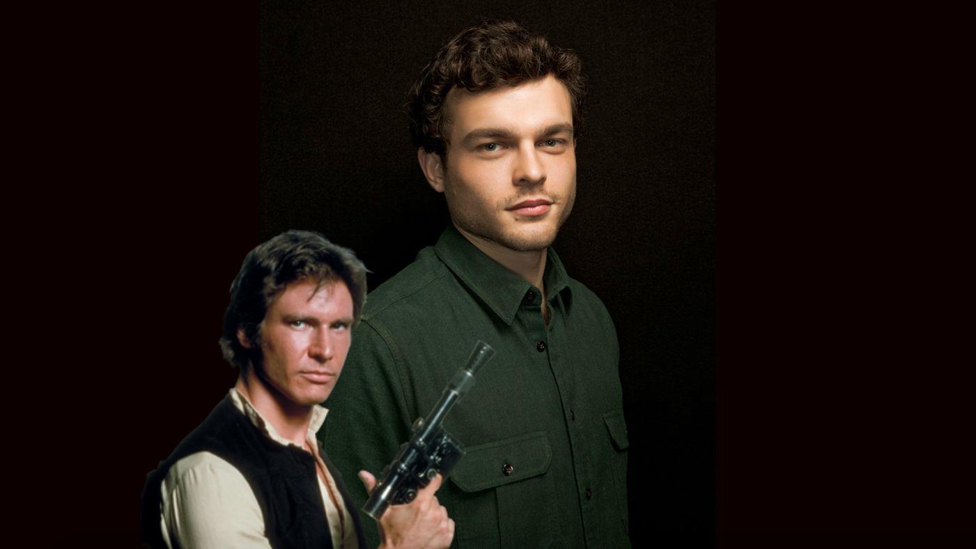 Alden Ehrenreich Cast as the Young Han Solo