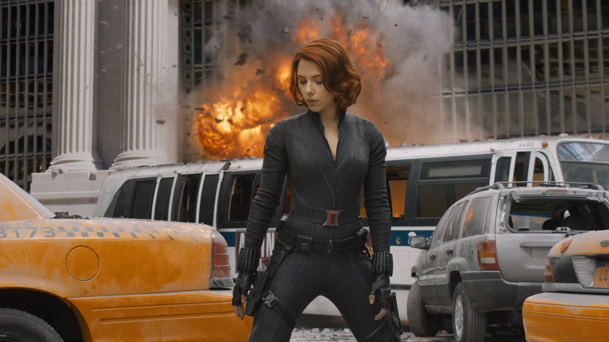 BLACK WIDOW (Scarlett Johansson)