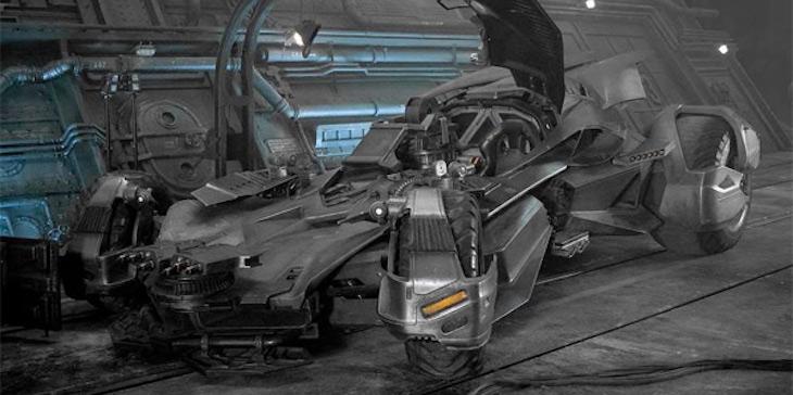 Justice League - Batmobile