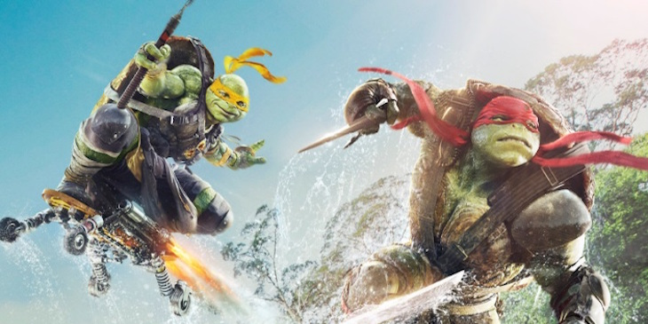 Teenage Mutant Ninja Turtles: Out Of The Shadows poster (Australia)