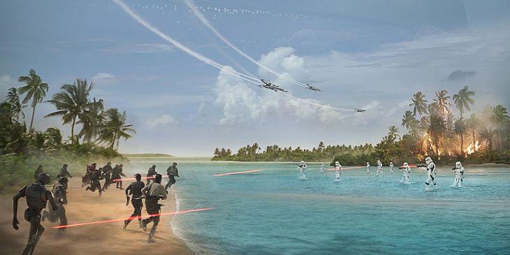 Rogue One Teaser poster - Australia