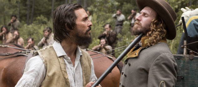 MATTHEW McCONAUGHEY and BILL TANGRADI star in THE FREE STATE OF JONES