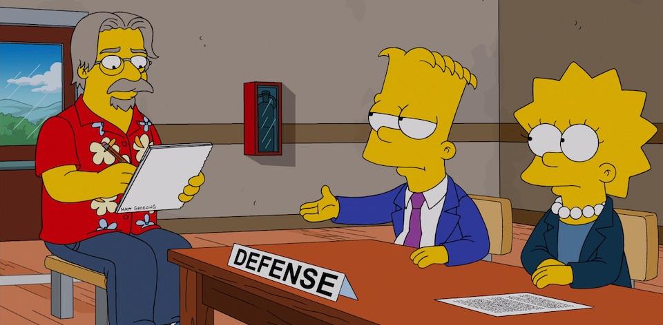 Matt Groening and The Simpsons