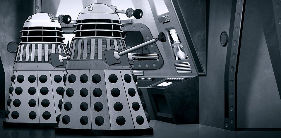 Power of the Daleks animated