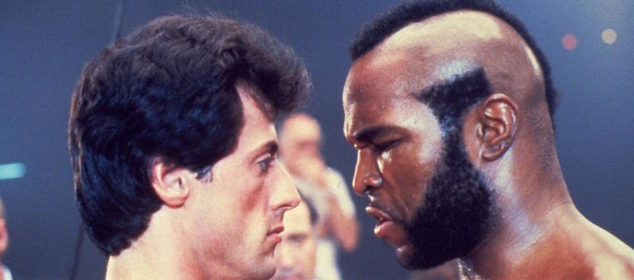Rocky and Mr. T
