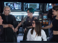 (L-R) Vin Diesel as Xander Cage, Toni Collette as Jane Marke, Ruby Rose as Adele Yusef, Nina Dobrev as Rebecca Clearidge, Deepika Padukone as Serena Unger, and Tony Gonzalez as Paul Donovan in xXx: RETURN OF XANDER CAGE by Paramount Pictures and Revolution Studios