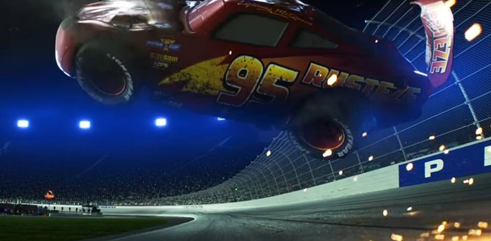 Disney Pixar Cars 3  ALL 3 FROM THE NEW FILM 2017