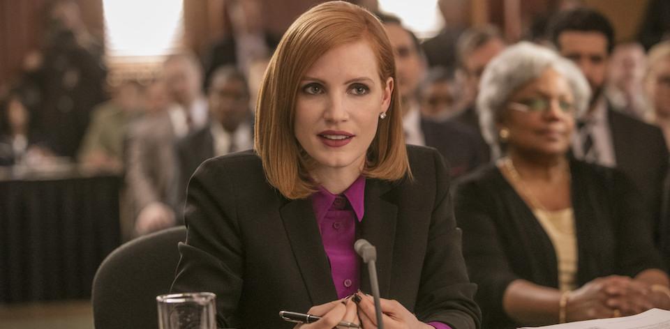 Miss Sloane (Jessica Chastain)