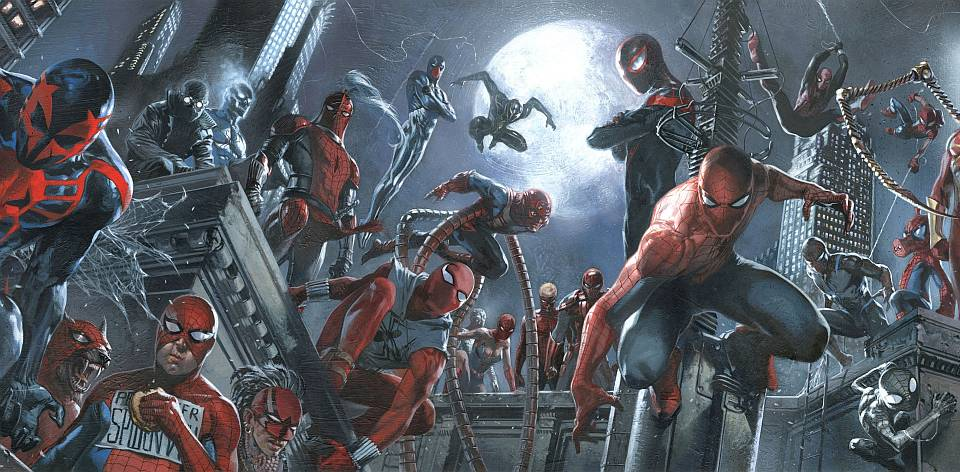 Spider-Verse - DellOtto Banner