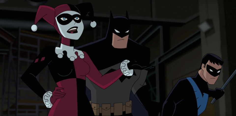 Batman and Harley Quinn animated film