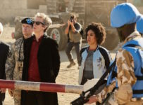 Programme Name: Doctor Who S10 - TX: 27/05/2017 - Episode: The Pyramid At The end Of The World (No. 7) - Picture Shows: Secretary General (TOGO IGAWA), The Commander (NIGEL HASTINGS), The Doctor (PETER CAPALDI), Bill (PEARL MACKIE) - (C) BBC/BBC Worldwide - Photographer: Simon Ridgway