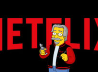 Netflix Logo with Matt Groening