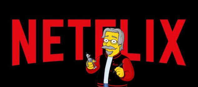 Netflix Logo with Matt Groening