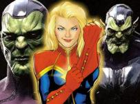 Captain Marvel Skrull Concept Art
