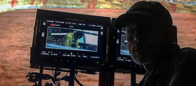 Ron Howard and Donald Glover on set of 'Han Solo'