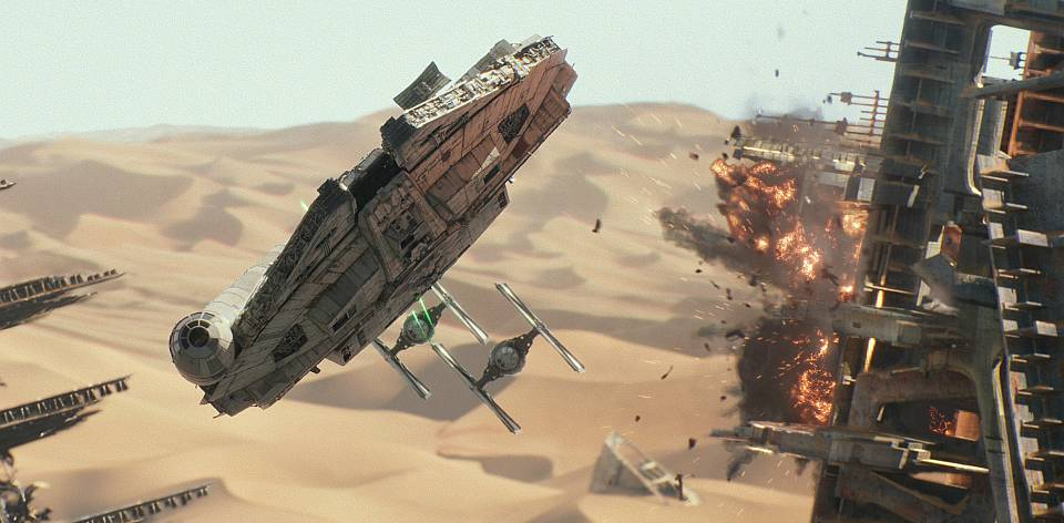 Millennium Falcon - Force Awakens